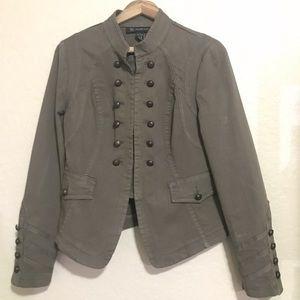 Inc International Concepts militarily Jacket